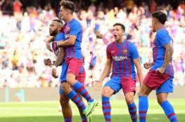 برشلونة يستعيد 3 مصابين قبل مباراة بنفيكا