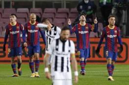 فيديو.. برشلونة يحقق فوز بشق الأنفس أمام ليفاني بالليغا