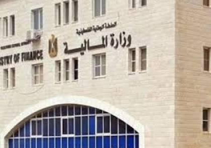 """المالية تكشف عن عجز مالي بإيرادتها لشهر """"مايو"""" الماضي بقيمة 863 مليون شيكل"""
