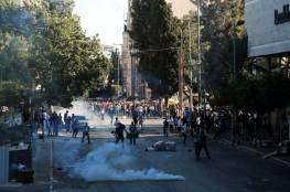 """فصائل وأجسام صحفية فلسطينية تعقب على الاعتداء """"القمعي"""" للصحفيين برام الله"""