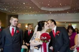 """العروس وعريسها """"ورفيق ليلة الزفاف"""""""