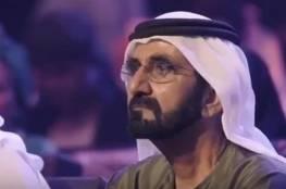 فيديو: دموع محمد بن راشد عند سماعه قصة مغربية أنقذت مهاجرين