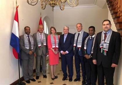 السفراء العرب يثمنون موقف الباراغواي