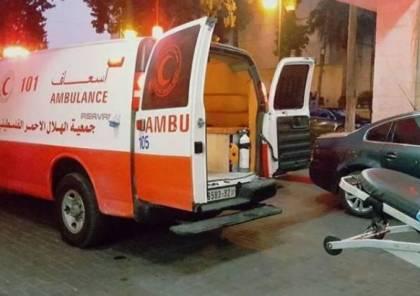 اصابة مواطن بعد انفجار جسم مشبوه بساحة منزله في بلدة اذنا
