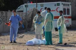 شاهد.. غزة: دفن المواطن لبد الذي توفي بسبب كورونا وسط إجراءات وقائية مشددة