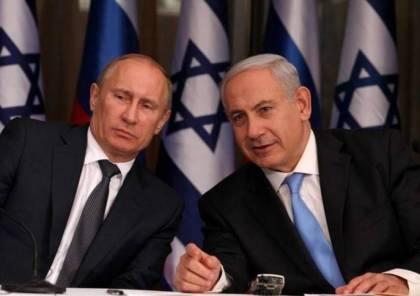 نتنياهو يُطلع بوتين على مُجريات زيارته الأخيرة إلى أوكرانيا