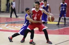 انتصار جديد لخدمات المغازي في دوري السلة