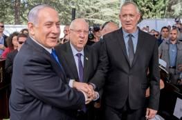 نتنياهو يستسلم : التخلي عن أوكنيس و تعيين غانتس وزيرًا للقضاء