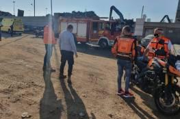قناة عبرية : مصرع إسرائيليين واصابة اخرين في انفجار بمصنع للمعادن في اسدود