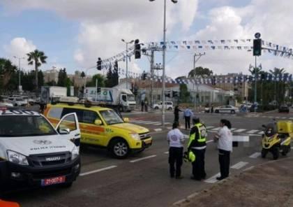 محدث .. مصرع شرطي إسرائيلي في عملية دهس بنهاريا واعتقال المنفذ