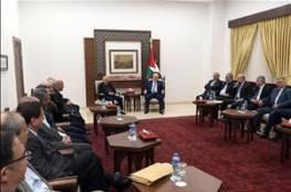 الرئيس عباس يستقبل لجنة التواصل مع المجتمع الإسرائيلي: نرفع لكم القبعة