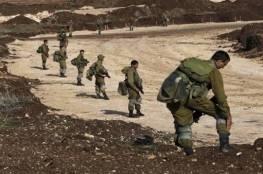 مناورات عسكرية يجريها الجيش الاسرائيلي على حدود قطاع غزة