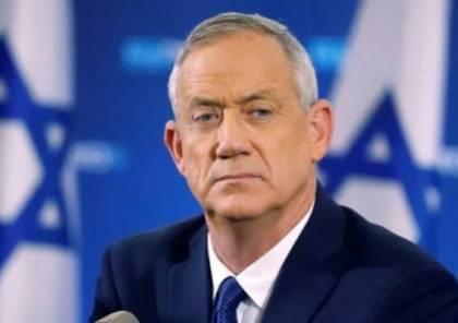 غانتس يشكر الإدارة الأمريكية على إحباط قرار لمجلس الأمن ينتقد إسرائيل