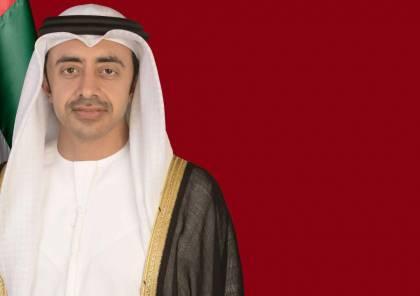 عبد الله بن زايد: حادث الفجيرة اعتداء على الإمارات وسلامة الملاحة