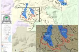 مركز أبحاث الأراضي يرصد  مخططات لتوسعة مستعمرات على 853 دونماً خلال نیسان الماضي