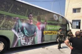 صور ..المنتخب السعودي يصل فلسطين لملاقاة الفدائي