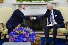 بايدن يتعهد أمام بينيت: إيران لن تحصل على سلاح نووي