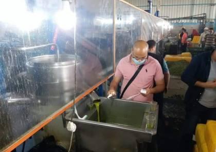 الزراعة بغزة تُكثف متابعتها لمعاصر الزيتون ليلًا ونهارًا