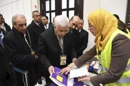 """""""سما""""تنشر النتائج النهائية لانتخابات اللجنة المركزية لفتح بالارقام"""