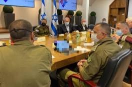 الكابينت الاسرائيلي يصادق على خطة لتوجيه ضربة جوية شديدة ضد أهداف في غزة