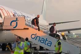 """نتنياهو يستقبل """"شخصيا"""" أول طائرة تجارية إماراتية قادمة من دبي... فيديو"""