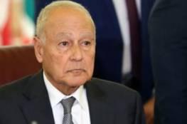 أبو الغيط: الفلسطينيون أوشكوا على فقد الثقة في حل الدولتين