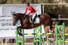 فلسطين تشارك في بطولة الشرق الأوسط للخيول