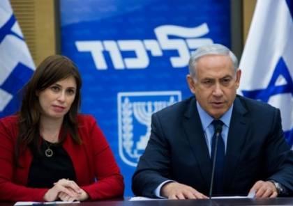 نتنياهو يدرس إقالة نائبة وزير الخارجية من منصبها