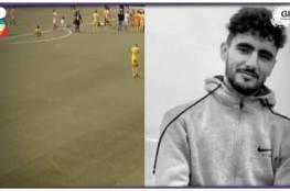 شاهد الفيديو : لاعب مغربي يلفظ أنفاسه الأخيرة في الملعب ...