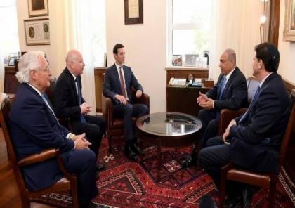 """""""معاريف"""": كوشنير-غرينبلات-فريدمان يتعمدّون إذلال الفلسطينيين"""