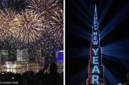 فيديو مبهر : دبي تدخل موسوعة غينتس في احتفالية استقبال العام الجديد !