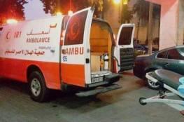 5 اصابات بحادثي سير ودهس منفصلين في جنين ونابلس