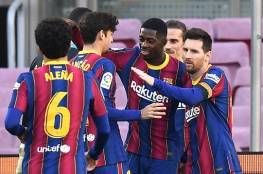 فيديو .. برشلونة يسحق أوساسونا برباعية في الدوري الإسباني