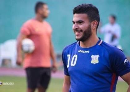 فيديو.. لاعب غزي يسجل مشاركته الأولى بالدوري المصري