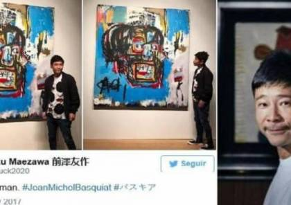 الملياردير مايزاوا يبيع لوحات فنية للخروج من مأزق مالي