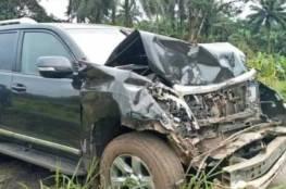 نجاة صامويل إيتو من الموت بعد حادث مروّع