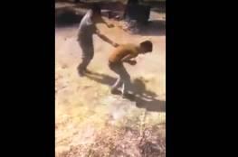 شاهد: فيديو مرعب لجنود أتراك يعذبون لاجئين سوريين!