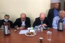 لجنة التواصل مع المجتمع الإسرائيلي تفاصيل تفاصيل اجتماعها مع نشطاء اسرائيليين برام الله