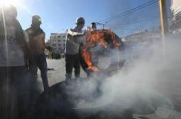 اصابة العشرات بالاختناق خلال قمع جيش الاحتلال لمسيرة كفر قدوم
