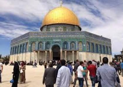 إعادة فتح أبواب المسجد لاستقبال المصلين بعد عيد الفطر