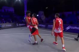"""فراعنة السلة يقهرون """"إسرائيل"""" ويرفضون مصافحة لاعبيها (فيديو)"""