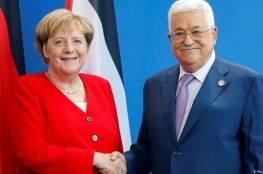 """الرئيس لـ""""ميركل"""": مستعدون للذهاب إلى المفاوضات على أساس الشرعية الدولية"""