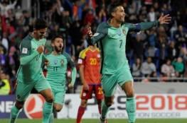 فيديو.. رونالدو يقود البرتغال للفوز على أندورا