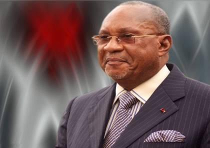 """وفاة رئيس الكونغو الأسبق """"جاك أوبانغو"""" بفيروس كورونا"""