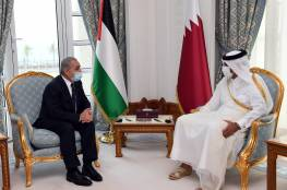 تفاصيل اجتماع رئيس الوزراء الفلسطيني مع نظيره القطري في الدوحة