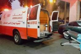 مصرع سيدة واصابة ابنتها في حادث سير وسط قطاع غزة