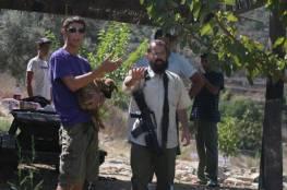 مستوطنون يعتدون على عائلة خلال زراعة أرضها جنوب نابلس