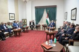 الرئيس يكشف: تحرك رسمي على الساحة الدولية للتصدي لقرار اسرائيل بحق المنظمات الفلسطينية