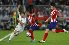 فيديو.. ريال مدريد بطلا للسوبر بعد مباراة ماراثونية أمام أتلتيكو