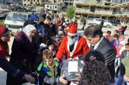 مكرمة من الرئيس لطلبة مدارس مخيم اليرموك
